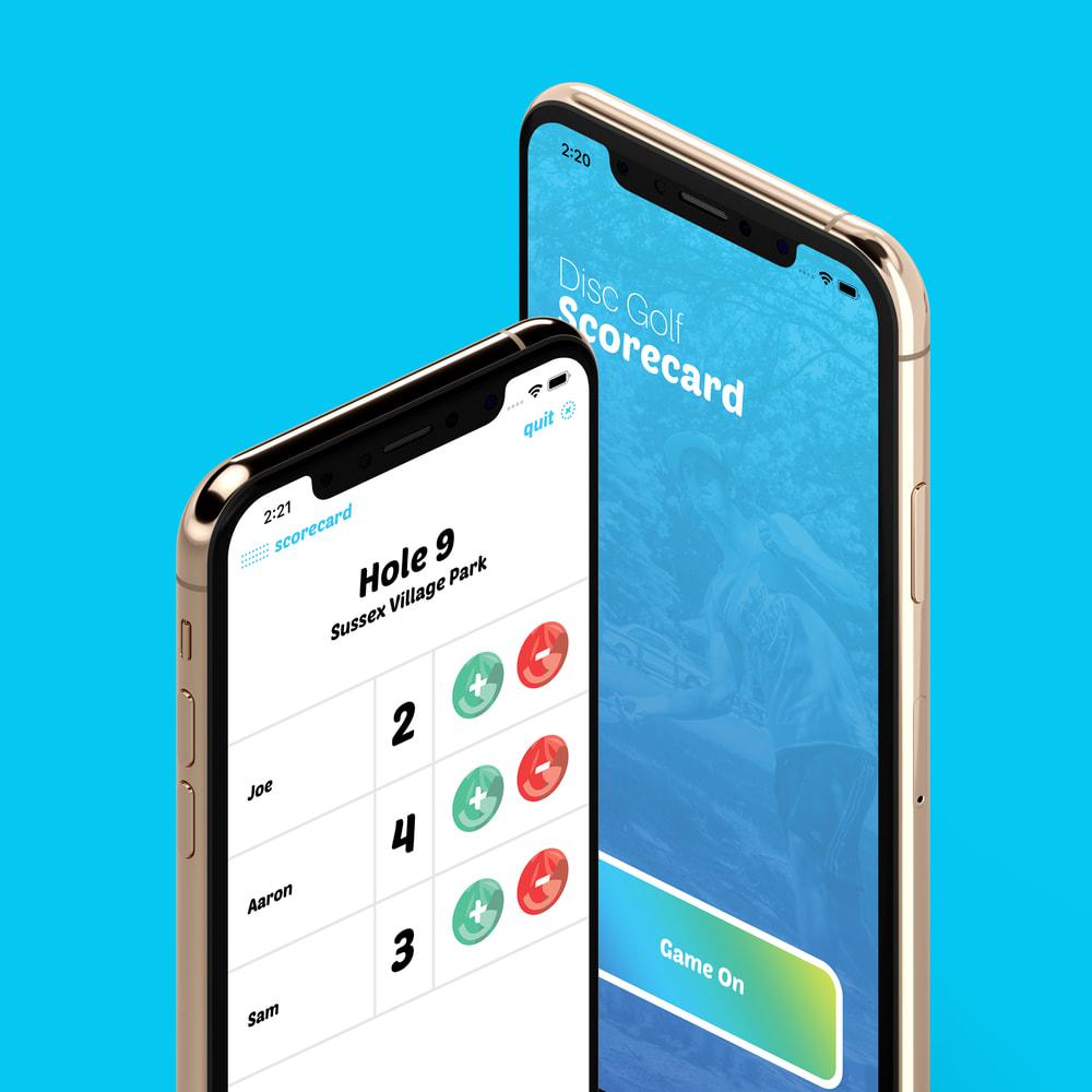 dg scorecard app designs