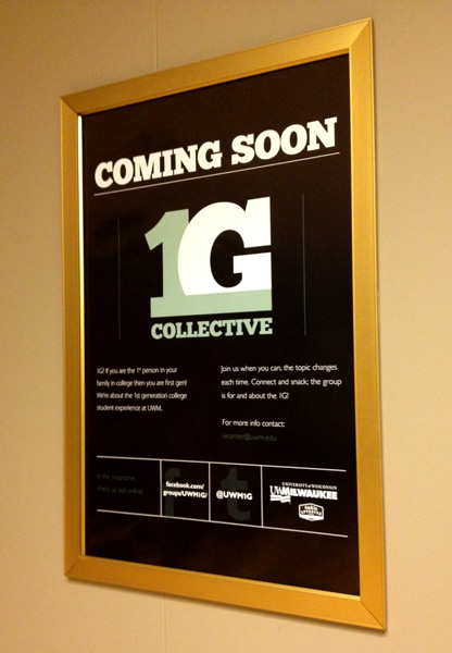1G Poster