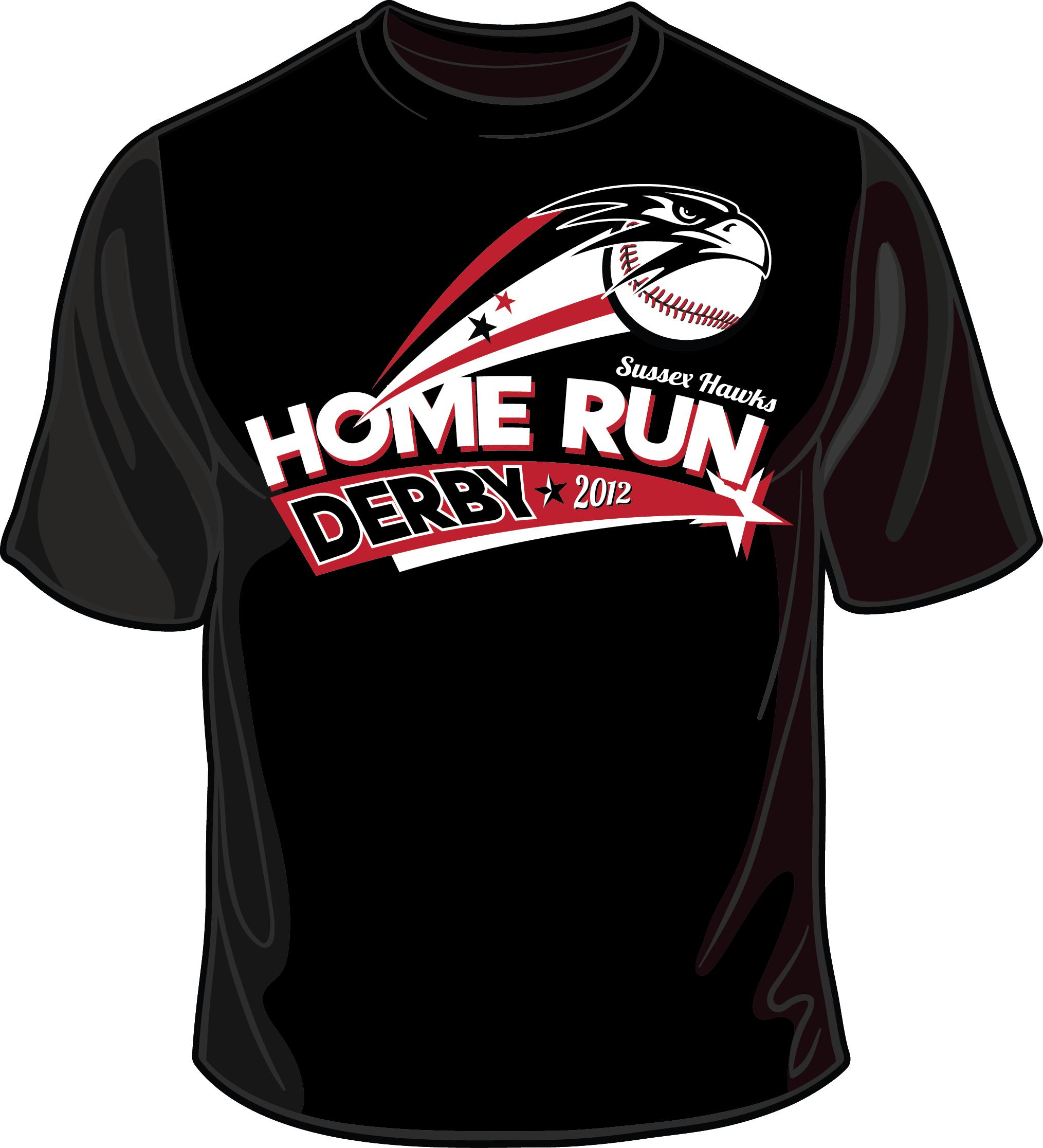 home run derby logo 2012 shirt
