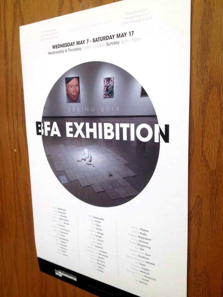bfa exhibition poster