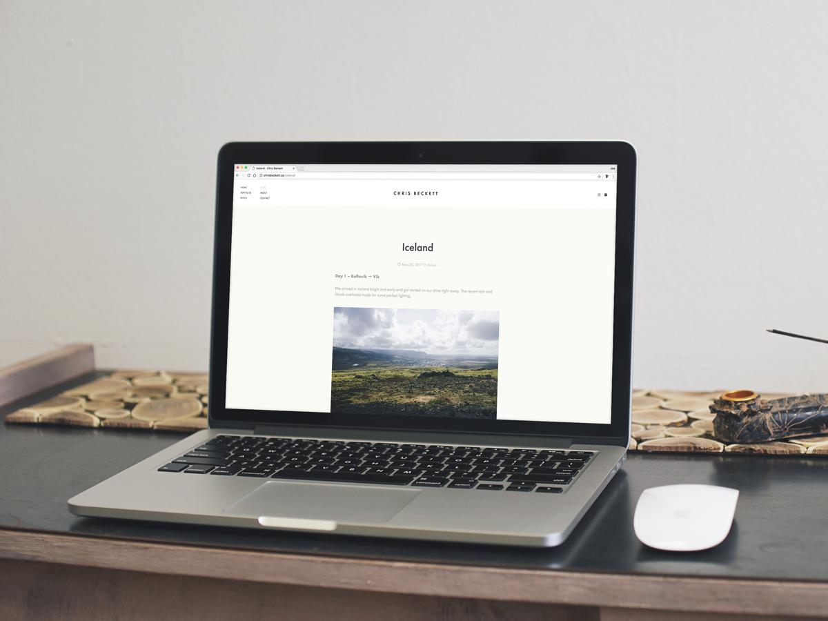 Chris Beckett Website
