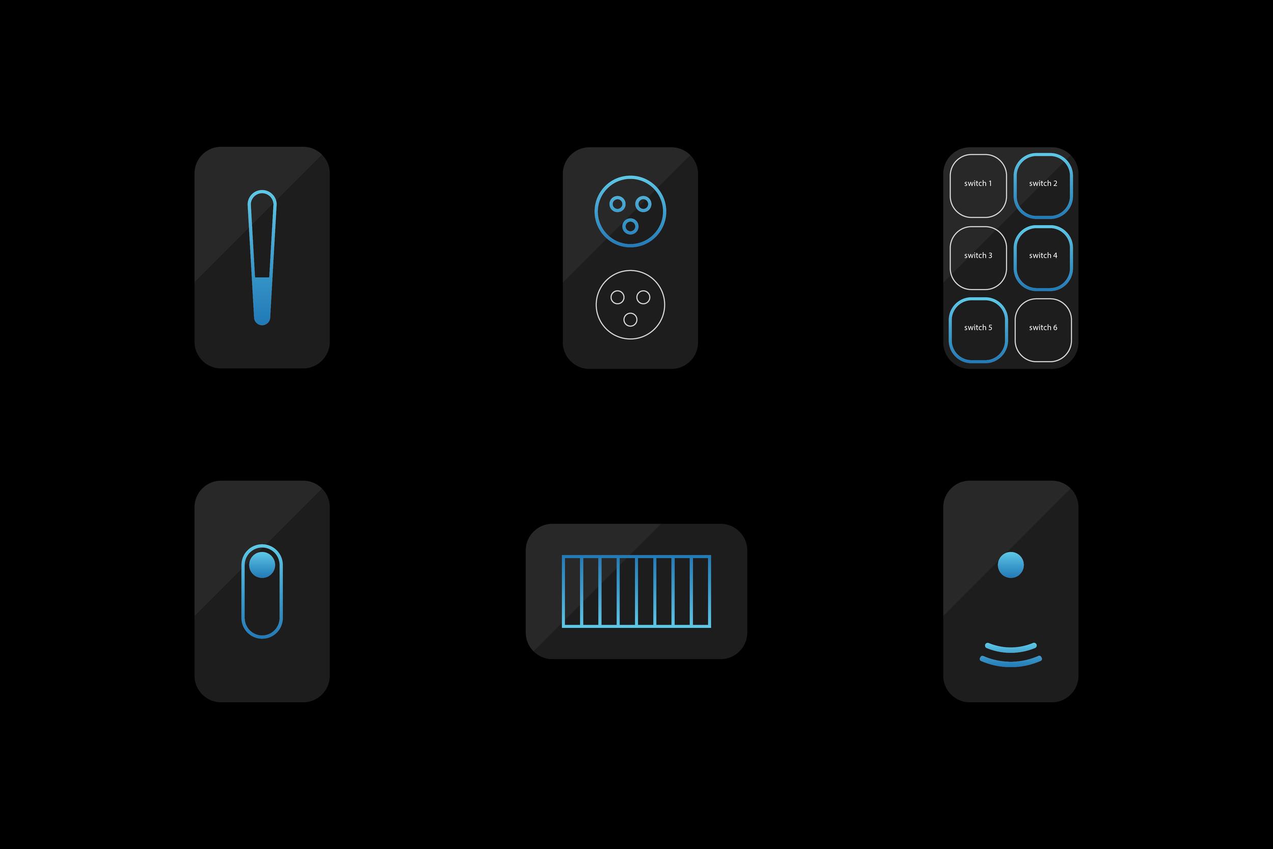 device icons dark