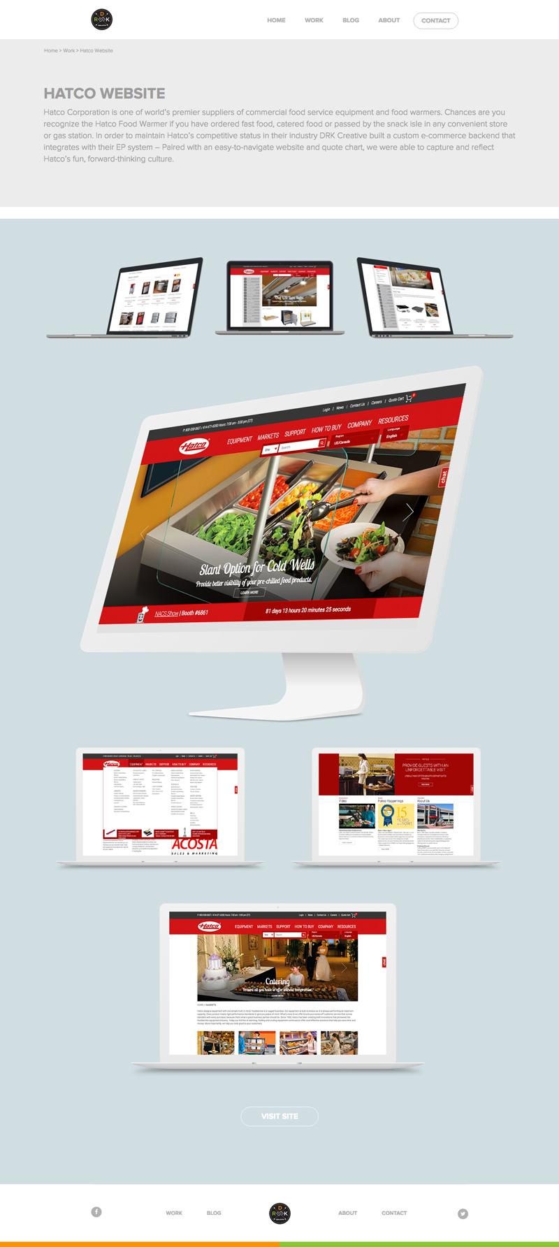 drk creative website