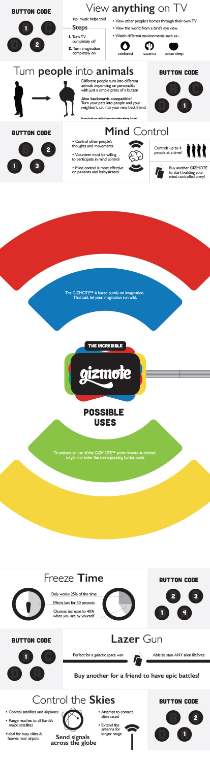 gizmote colorful infographic