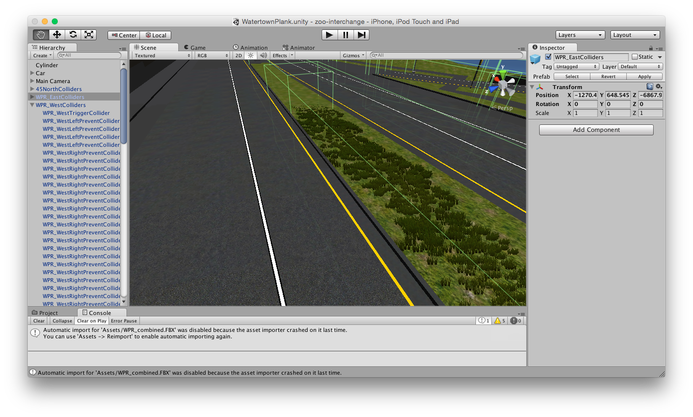 interchange simulator unity
