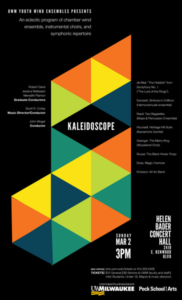 kaleidoscope poster dark