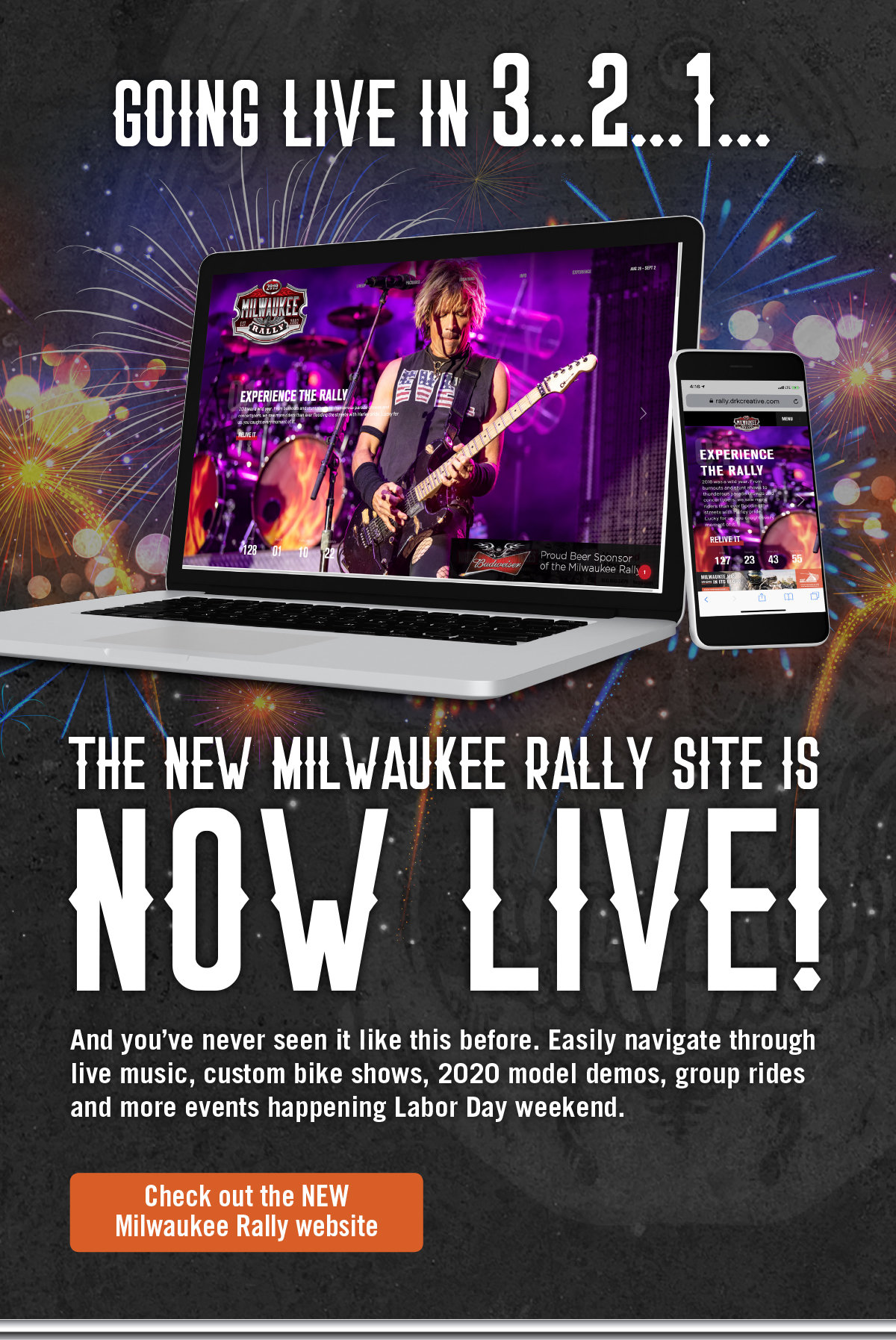 Milwaukee rally website launch ad