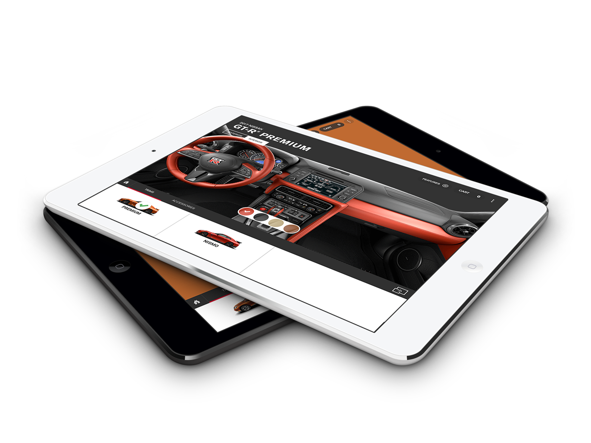 Nissan app tablet