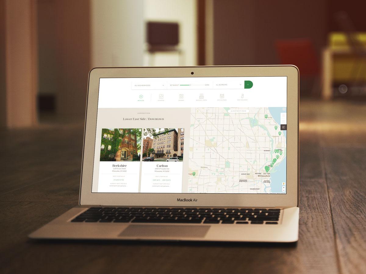 Shoreline Real Estate website