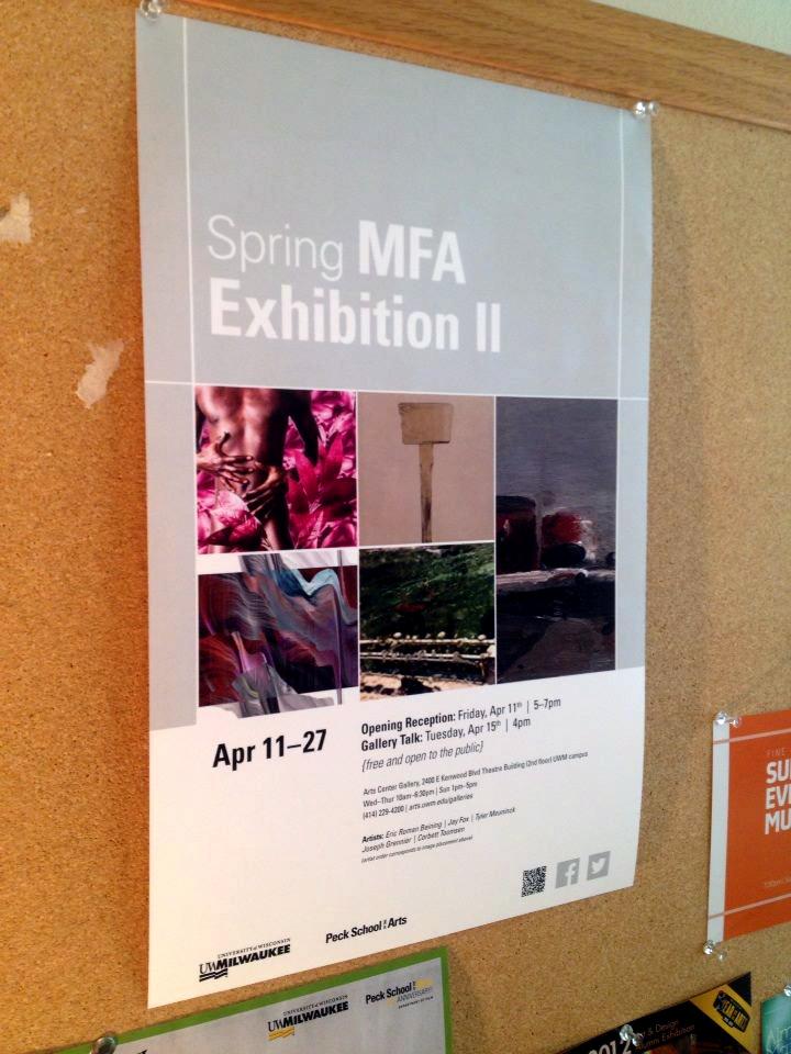 spring mfa exhibition poster
