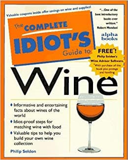 the complete idiots guide to wine book cover