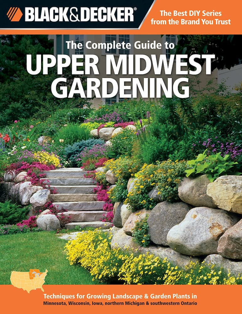upper midwest gardening book cover