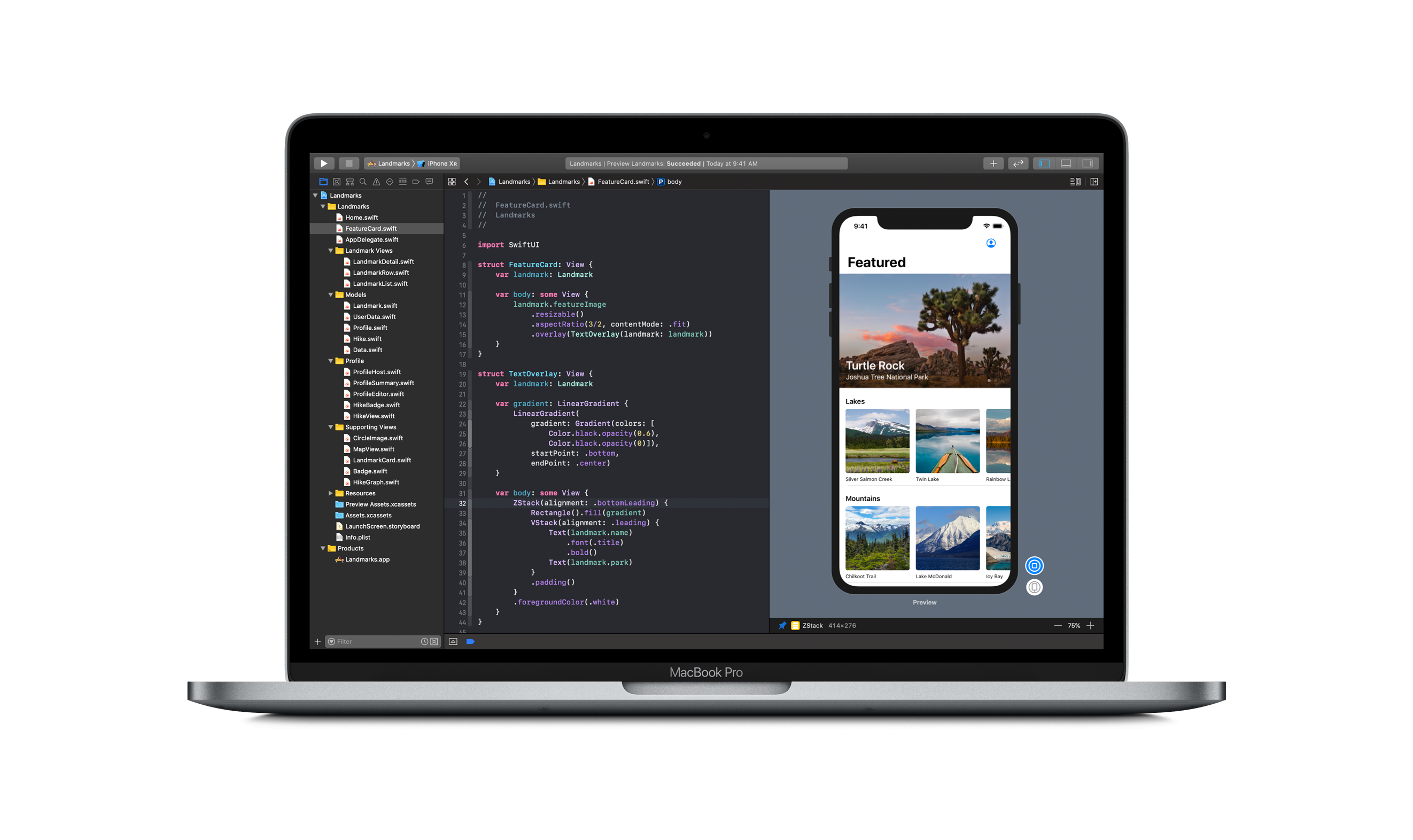 Apple's Official SwiftUI Tutorial