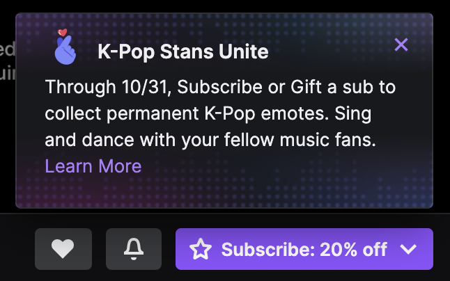 Twitch Popup Notification